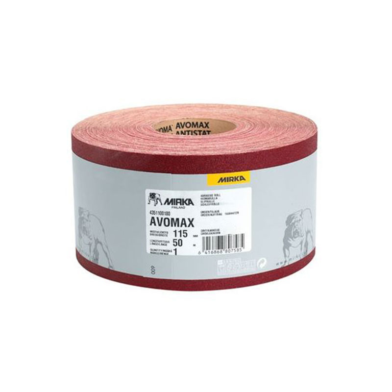 Avomax Antistatic Red 115mm X 120G MIRKA 4251100112