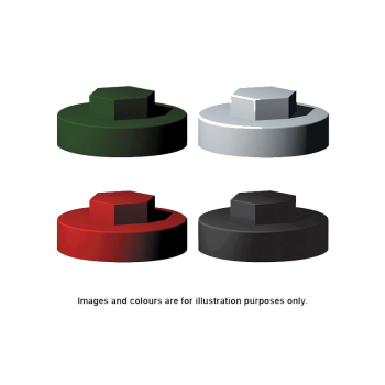 HERITAGE GREEN COVER CAP 19mm 5/16 HEX