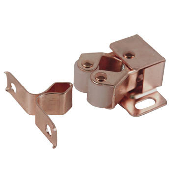 DOUBLE ROLLER CATCH FL.BRONZE PATT 1380G