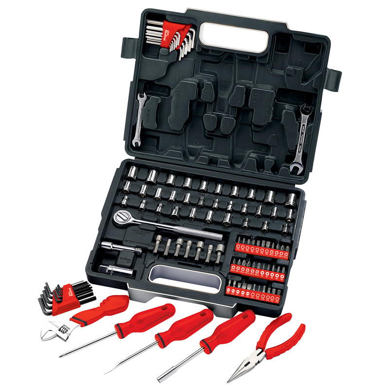 DRAPER 68503 105PC 1/4inch & 3/8inch SQ/DRV MECHANICS TOOL KIT