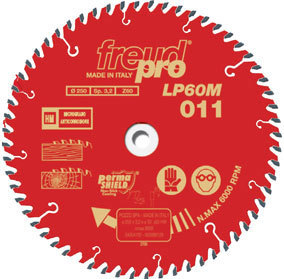 CIRCULAR SAW BLADE 250 X 30 80 TEETH LP60M-001