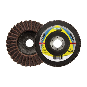 ABRASIVE DISC MOP COARSE 115MM BROWN SMT 800 KLINGSPOR 278495