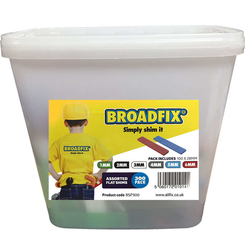Broadfix BSP300 Flat Packers Mixed Tub 300