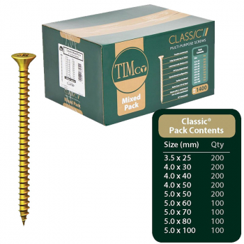 Classic Screw Mixed Pack 1400 CLAFMP