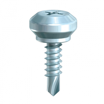 WINDOW SCREW PN241Z ZINC 4.0x13 WEATHER BAR SCREW