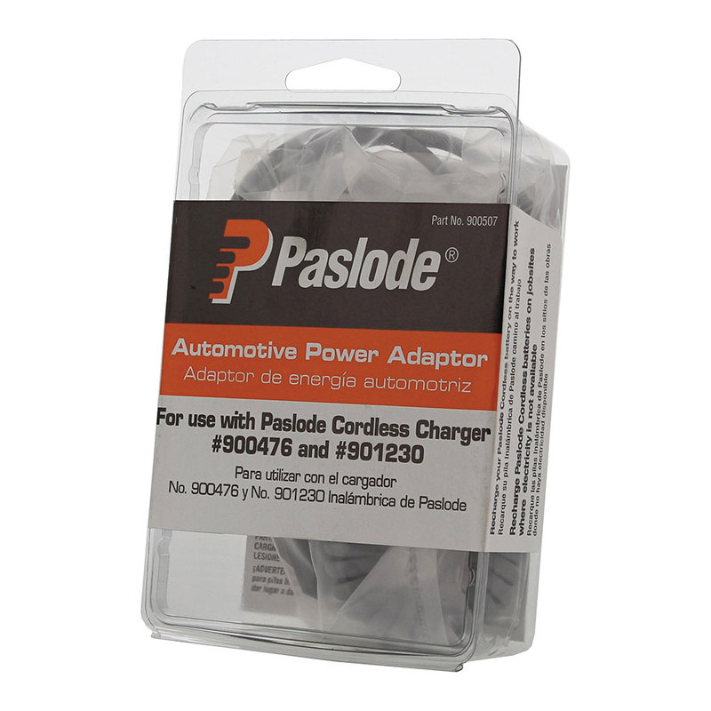 Paslode 900507 In-car Charger Adaptor