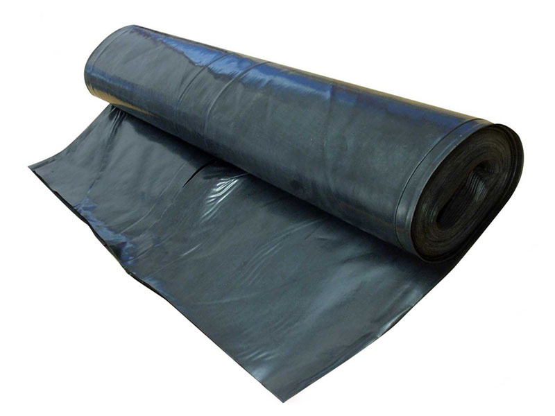Damp Proof Membrane 300MU 4MT X 25MT Black (1200G)