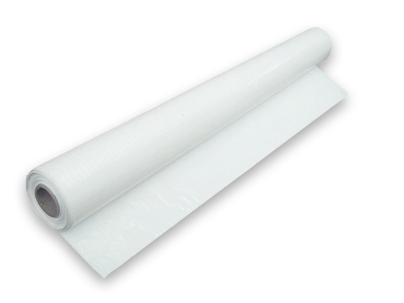 POLYTHENE SHEET CLEAR 62.5MU 4MT X 25MT (6.0kg)
