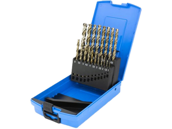M19 HSCo DRILL SET 09501M19 1.0 - 10.0mm X 0.5mm