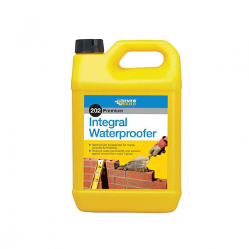 202 Integral Liquid Waterproofer 5 Litre Everbuild
