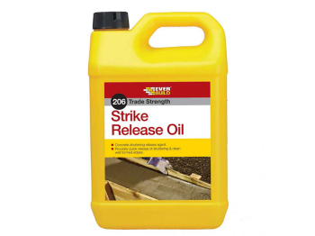 206 Strike Release Oil 5 Litre Everbuild - STRIKE5