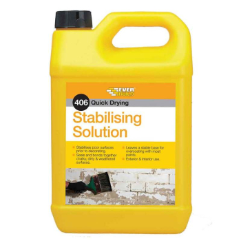 406 Stabilising Solution 5 Litre Everbuild