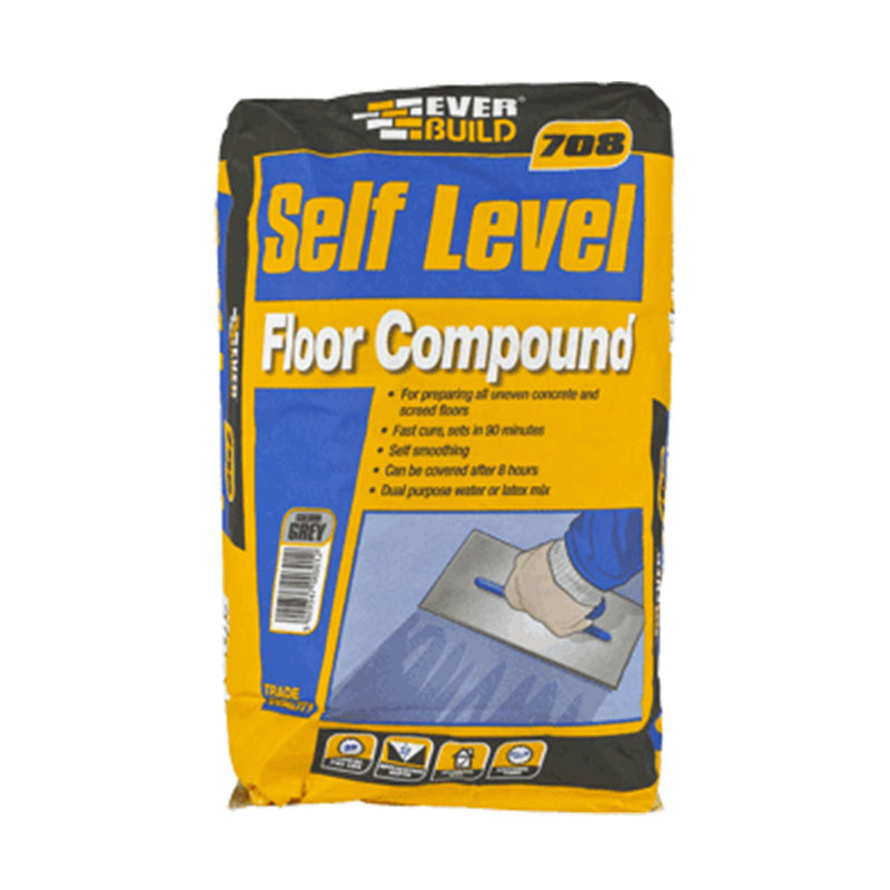 708 SELF-LEVEL COMPOUND 20KG EVERBUILD