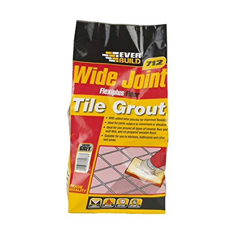 712 WIDE JOINT GROUT 5KG GREY FLEXIPLUS EVERBUILD
