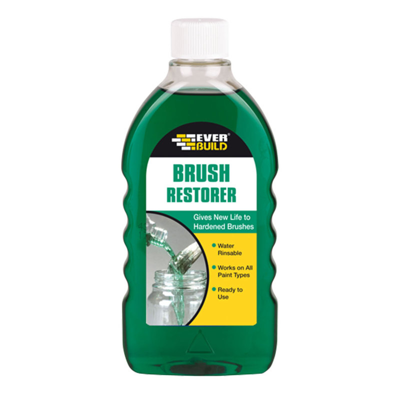 BRUSH RESTORER 500ML EVERBUILD
