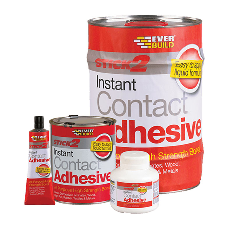 STICK 2 CONTACT ADHESIVE 5LT EVERBUILD - CONA5