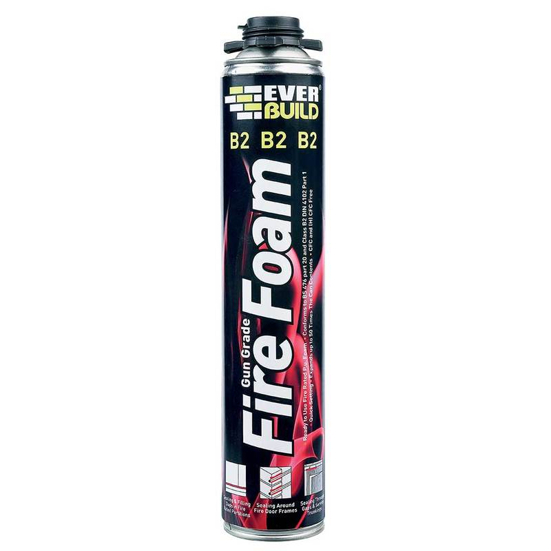 Everbuild Firefoam B2 Gungrade 750ml