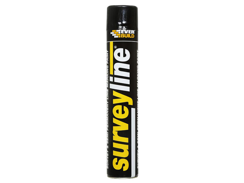 Surveyline Line Black Marking Spray Paint 700ml