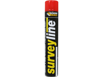 Surveyline Line Red Marking Spray Paint 700ml