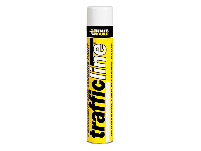 Trafficline Permanent White Marking Spray Paint 700ml
