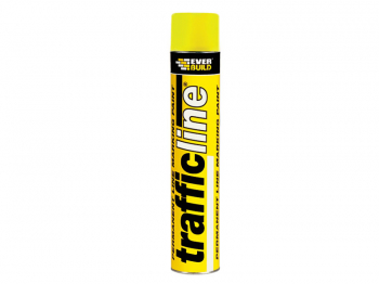 Trafficline Permanent Yellow Marking Spray Paint 700ml
