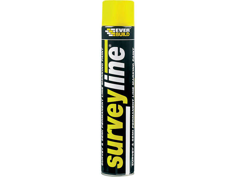 Surveyline Line Yellow Marking Spray Paint 700ml