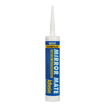 MIRROR MATE WHITE ADHESIVE (DO NOT USE ON POLYTHENE)EVERBUILD