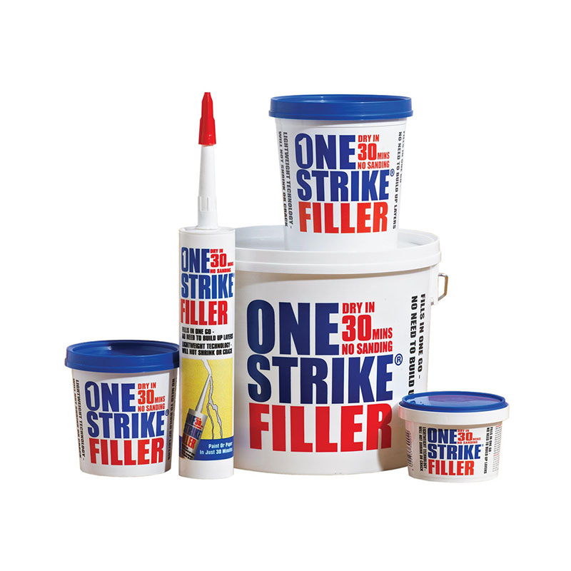 ONE STRIKE FILLER 5LTR EVERBUILD
