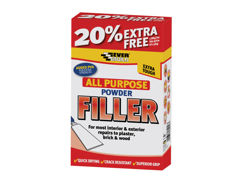 ALLPURPOSE POWDER FILLER 1.5KG EVERBUILD