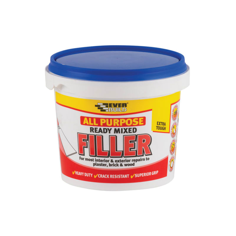 READY MIXED FILLER DECOR 1KG ALL PURPOSE (RMFILL1)EVERBUILD