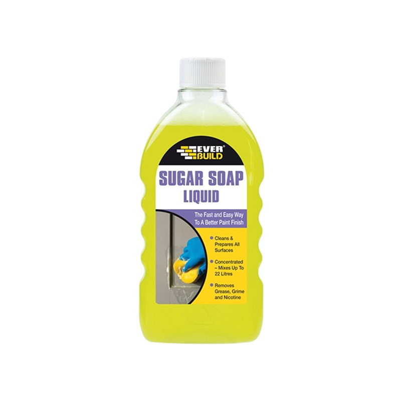 SUGAR SOAP LIQUID 500ML EVERBUILD