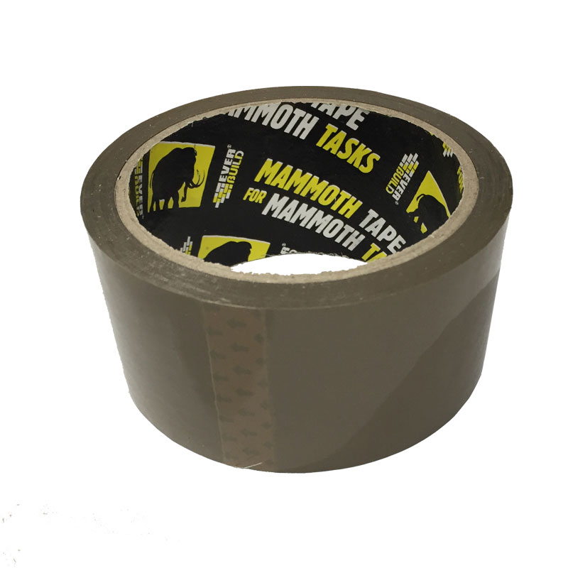 VAL PACKING TAPE 48 MM X 50 MT BROWN MAMMOTH EVERBUILD