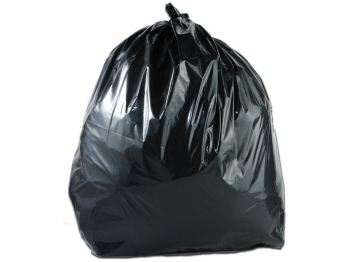 BLACK POLYTHENE REFUSE SACKS 1 BOX = 200 P/N HDBS39