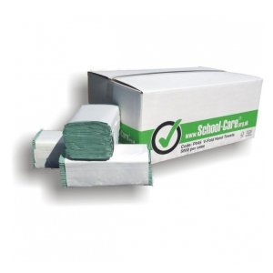 HAND TOWELS GREEN BOX OF 5000 P/N HTV1-BG