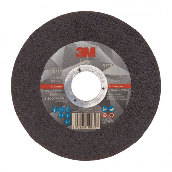 3M Silver Cut-Off Wheel T41 115mm x 1.0mm x 22.23mm