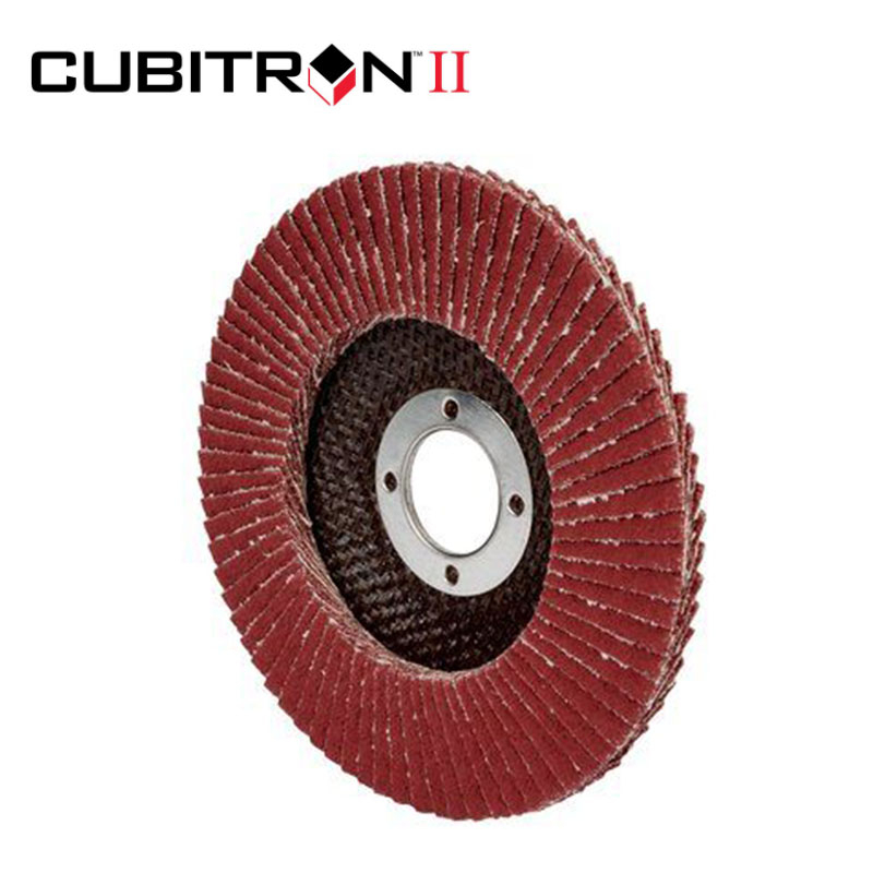 Flap Disc 967A, 115 mm, 40+ 3M<sup>(TM)</sup> Cubitron<sup>(TM)</sup> Conical 65051