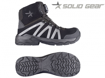 Snickers Solid Gear Onyx Mid Safety Boot