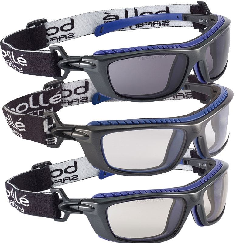 Bollé Baxter Platinum Safety Glasses