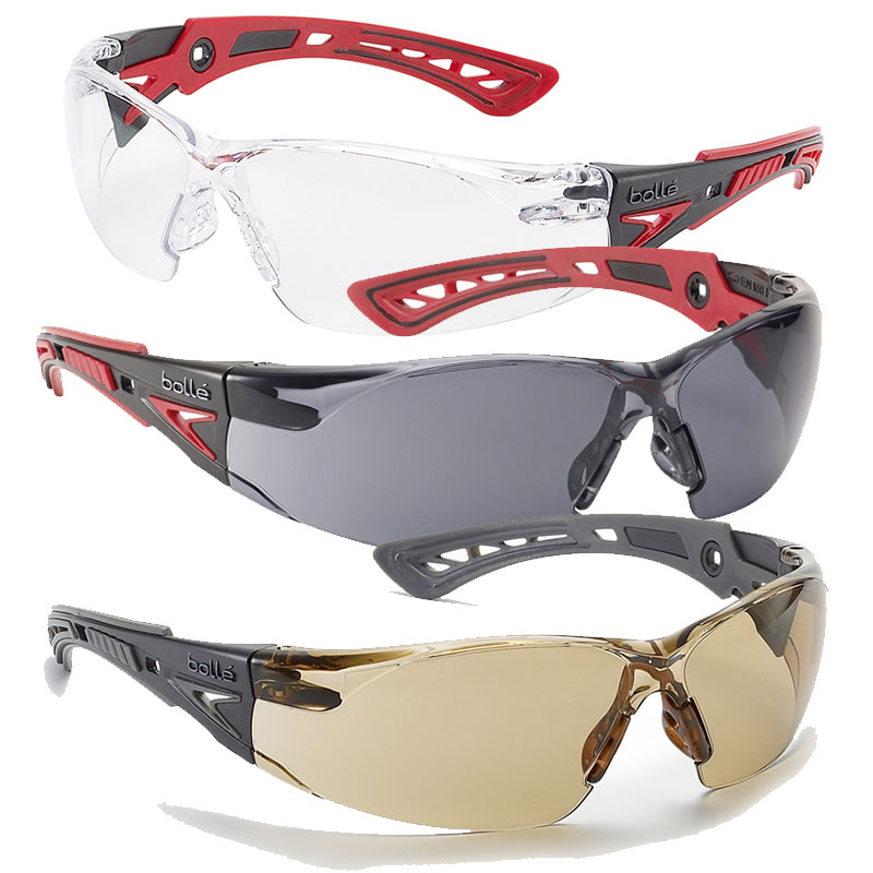 Bollé Rush+ Platinum Safety Glasses
