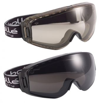 Bollé Pilot Ventilated Safety Goggles