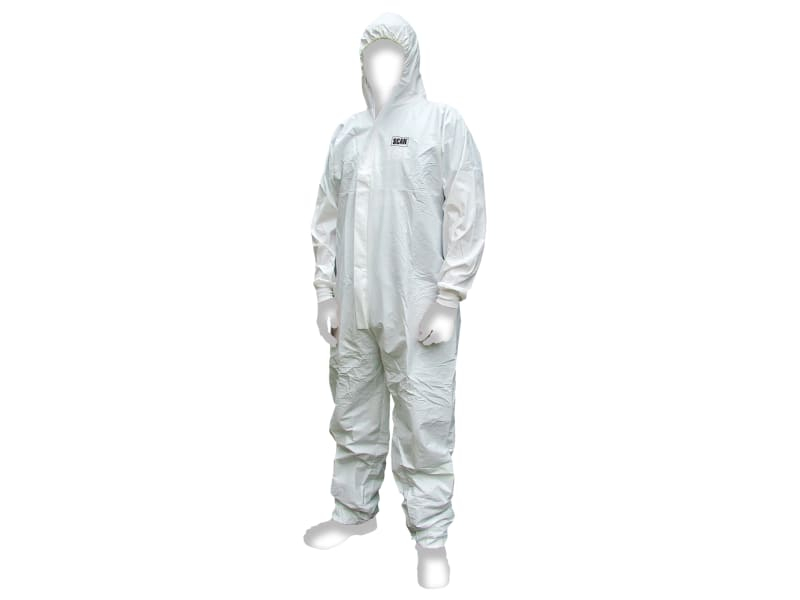 Scan chemical splash resistant coverall