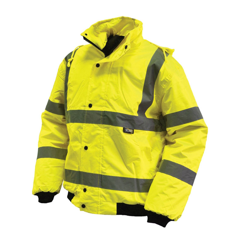Scan high-visibility waterproof bomber jacket