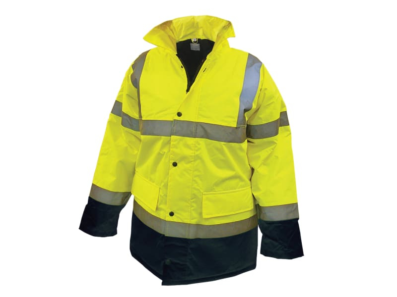 Scan Hi-Vis Motorway Jacket