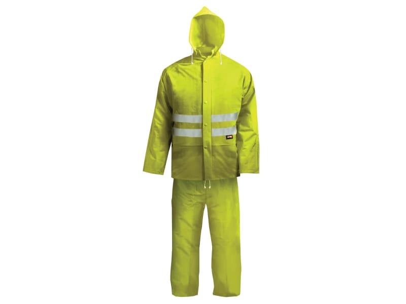 Scan Hi-Visibility Rain Suit, Yellow