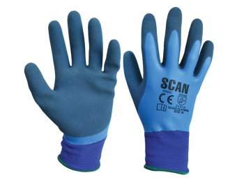 Scan Waterproof Latex Gloves