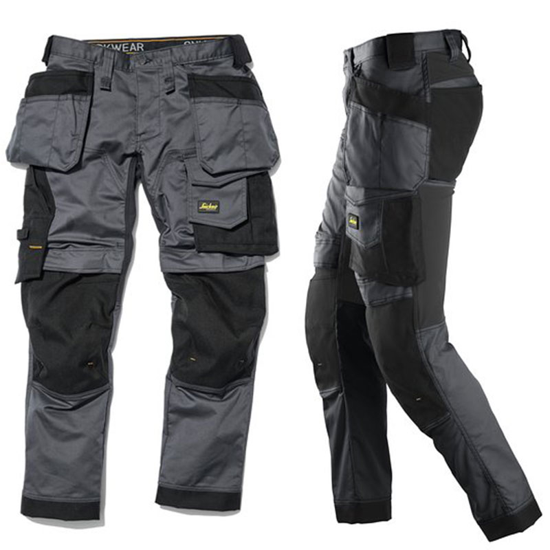 Snickers 6241 AllroundWork Slim Fit Trousers Holster Pockets