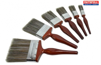 Faithfull Superflow Paint Brushes