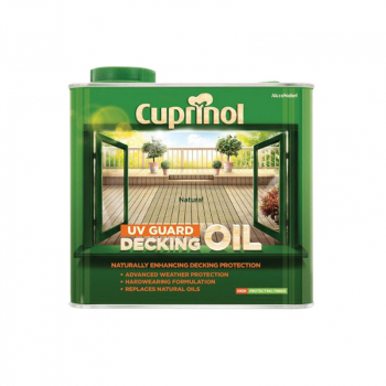 UV Guard Decking Oil 2.5 Litre