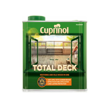Total Deck Restore & Oil Wood Clear