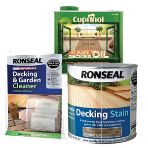 Rustins Decking Oil Clear